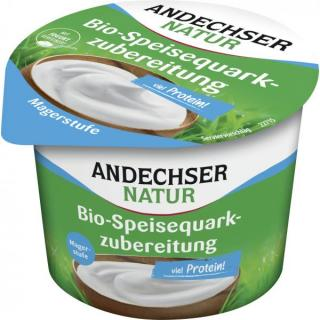 Speisequark, mager  Andechs 250g